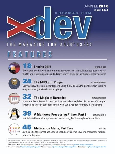 Xojo Developer Magazine